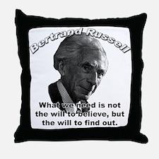 Bertrand Russell 02 Throw Pillow