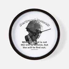 Bertrand Russell 02 Wall Clock