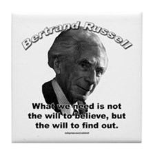 Bertrand Russell 02 Tile Coaster