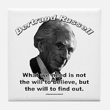 Bertrand Russell 02 Tile Coaster