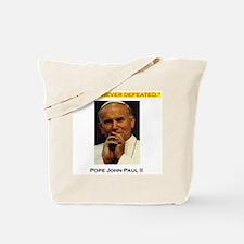 'Commander Catholic's Uniform' Tote Bag