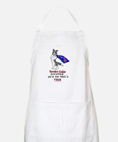 Super Border Collie blue merle Apron