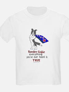 Super Border Collie blue merle T-Shirt