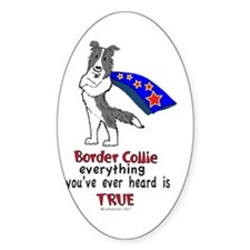 Super Border Collie blue merle Decal