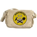 NEWrockhound-sticker.png Messenger Bag