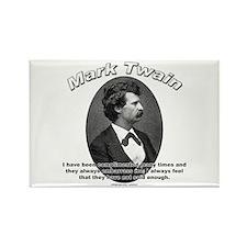 Mark Twain 01 Rectangle Magnet