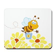 Cartoon Honey Bee Mousepad