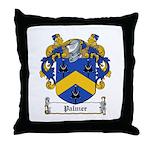 Palmer Family Crest Throw Pillow