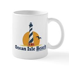Ocean Isle Beach NC - Lighthouse Design. Mug