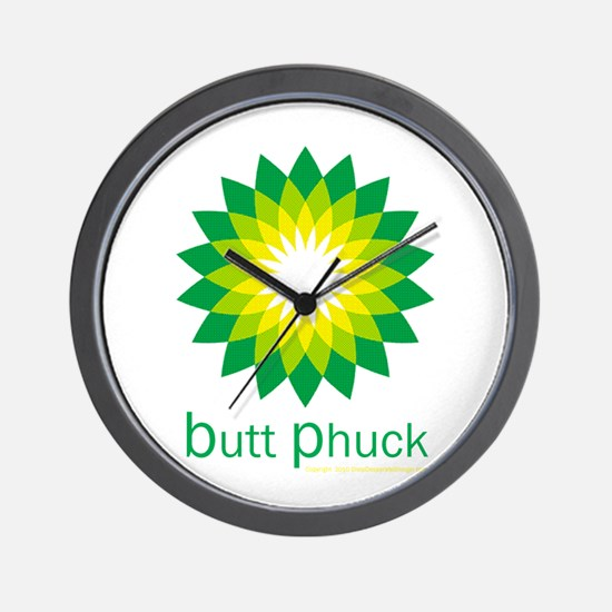 bp Wall Clock