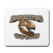 Bookkeeping Old Timer Mousepad
