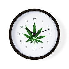 Potleaf Wall Clock