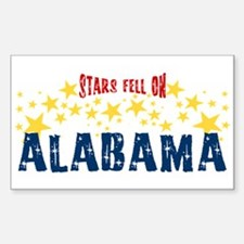 Stars Fell on Alabama Sticker (Rectangle)