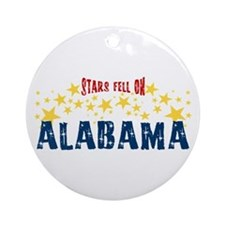 Stars Fell on Alabama Ornament (Round)