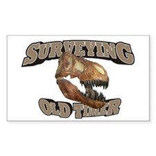 Surveying Old Timer Decal