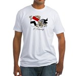 O'Tierney Coat of Arms Fitted T-Shirt