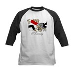 O'Tierney Coat of Arms Kids Baseball Jersey
