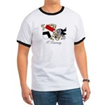 O'Tierney Coat of Arms Ringer T