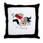 O'Tierney Coat of Arms Throw Pillow