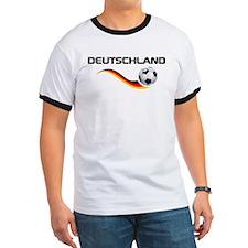 Soccer DEUTSCHLAND with back print T