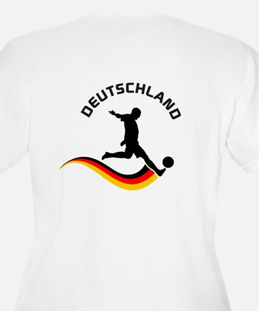 Soccer DEUTSCHLAND with back print T-Shirt