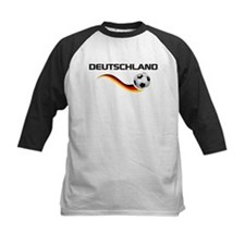 Soccer DEUTSCHLAND with back print Tee