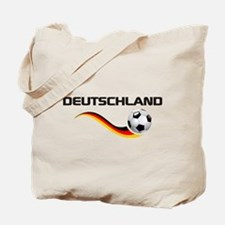 Soccer DEUTSCHLAND with back print Tote Bag