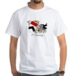 O'Tierney Coat of Arms White T-Shirt