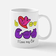 I-L-Y My Cat Mug