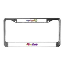 I-L-Y My Cat License Plate Frame