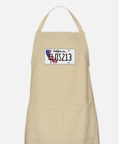 CA USA License Plate Apron