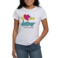 I-L-Y My Dog Tee