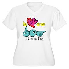 I-L-Y My Dog T-Shirt