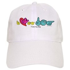 I-L-Y My Dog Baseball Cap