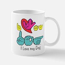 I-L-Y My Dog Mug