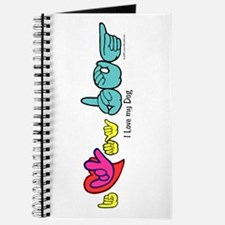 I-L-Y My Dog Journal