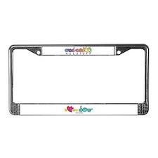 I-L-Y My Dog License Plate Frame
