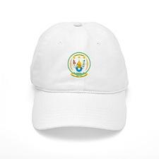 Rwanda Coat Of Arms Baseball Cap