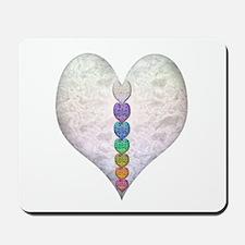 Chakra Hearts Mousepad
