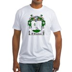 O'Sheehan Family Crest Fitted T-Shirt