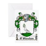 O'Sheehan Family Crest Greeting Cards (Package of