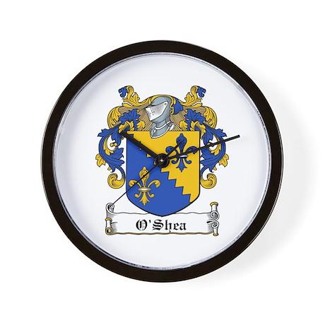 O'Shea Family Crest Wall Clock