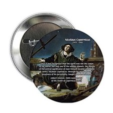 Nicolaus Copernicus Cosmos Button