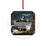 Nicolaus Copernicus Cosmos Ornament (Round)