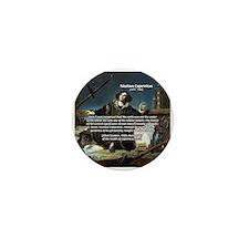 Nicolaus Copernicus Cosmos Mini Button