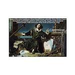 Nicolaus Copernicus Cosmos Rectangle Magnet (100 p