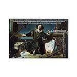 Nicolaus Copernicus Cosmos Rectangle Magnet (10 pa