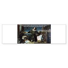 Nicolaus Copernicus Cosmos Bumper Bumper Sticker