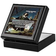 Nicolaus Copernicus Cosmos Keepsake Box