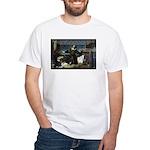 Nicolaus Copernicus Cosmos White T-Shirt